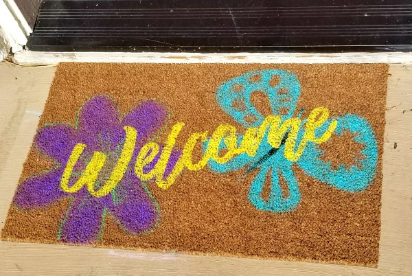 make your own doormat