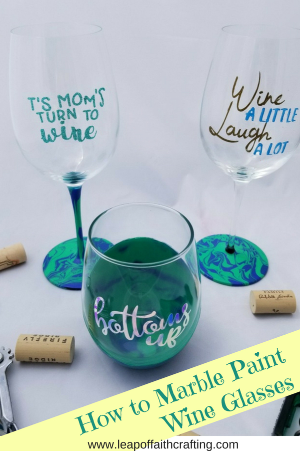 diy personalized wine glasses pin