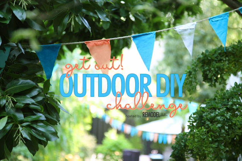 outdoor diy challenge button remodelaholic