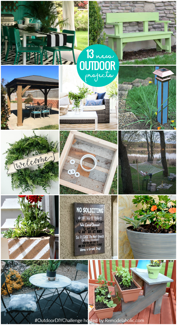 outdoor diy challenge new tutorials projects remodelaholic