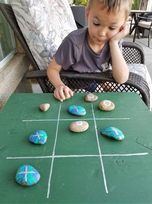 outdoor tic tac toe