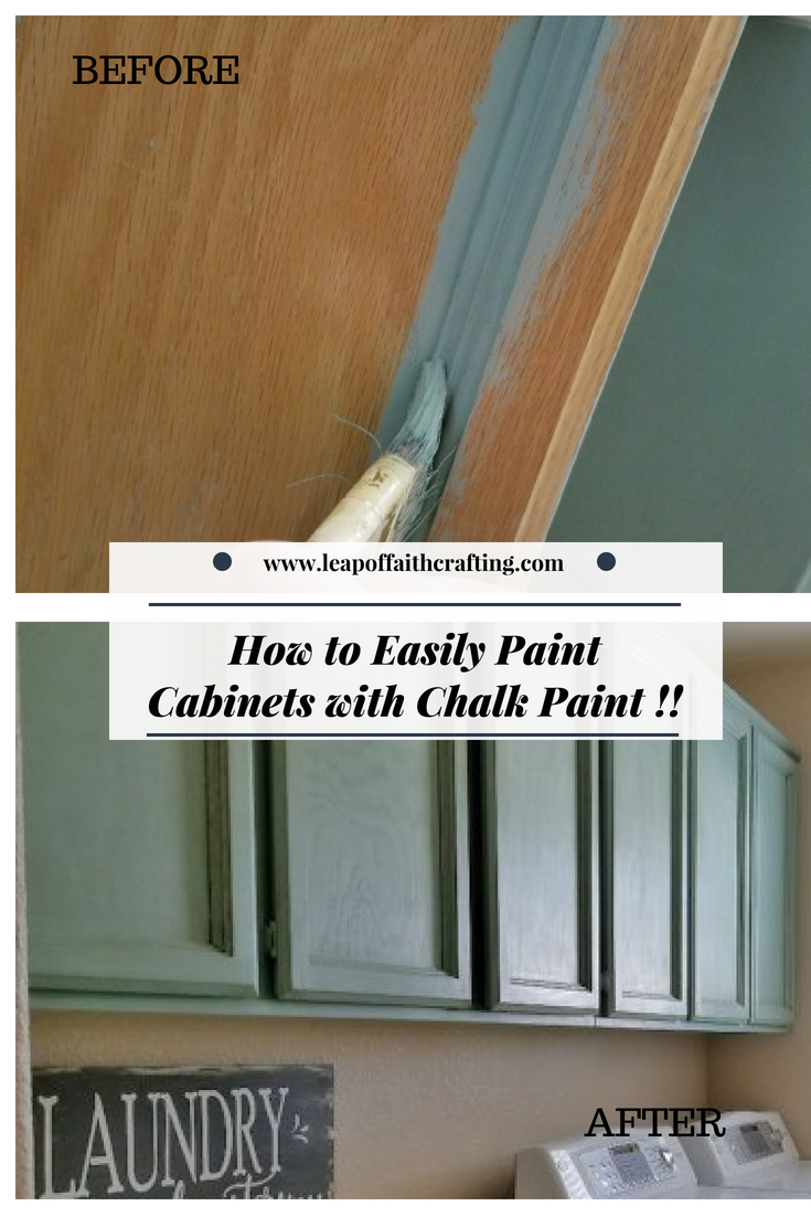 painting cabinets with chalk paint pin