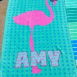 personalized swimming towel