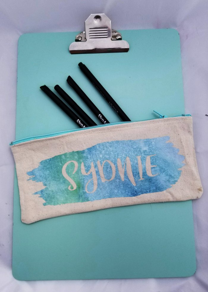 cricut maker pencil case