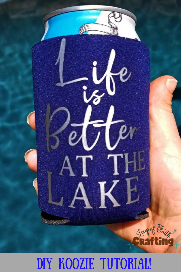 diy koozie pin