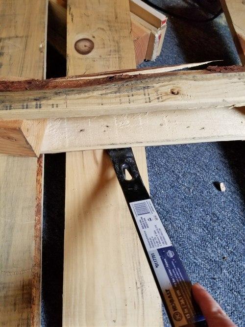 pallet backboard