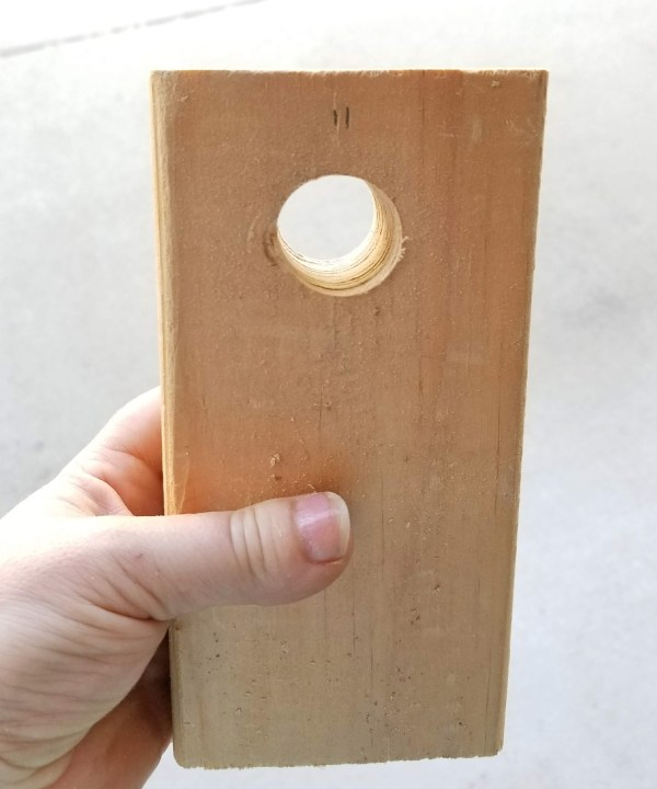 diy cup turner made out of wood
