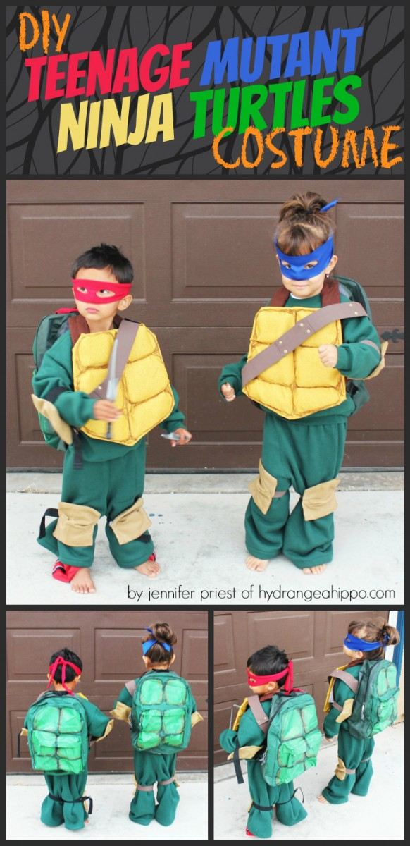 diy teenage mutant ninja turtles costume by jennifer priest x