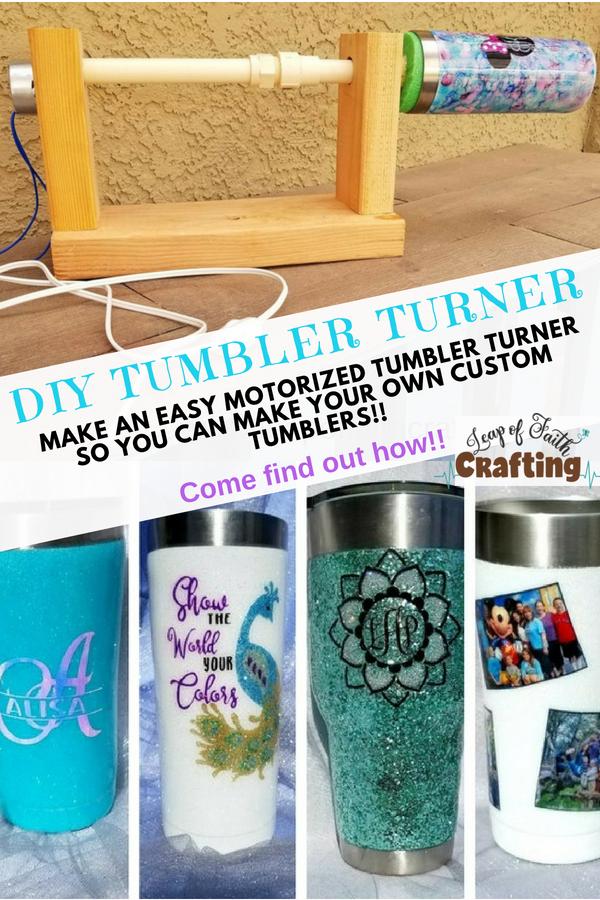 how to make a tumbler turner pin