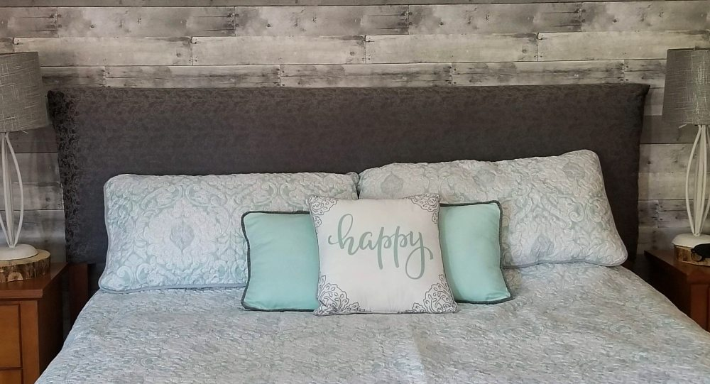 simple headboard diy
