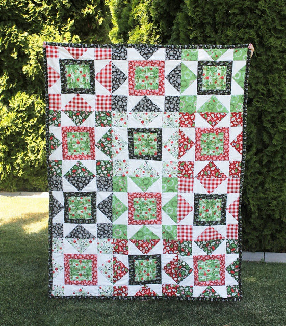 big star throw quilt riley blake designs .
