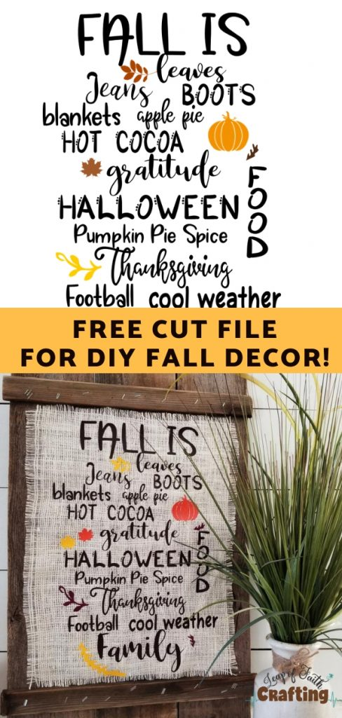 cricut fall crafts pin