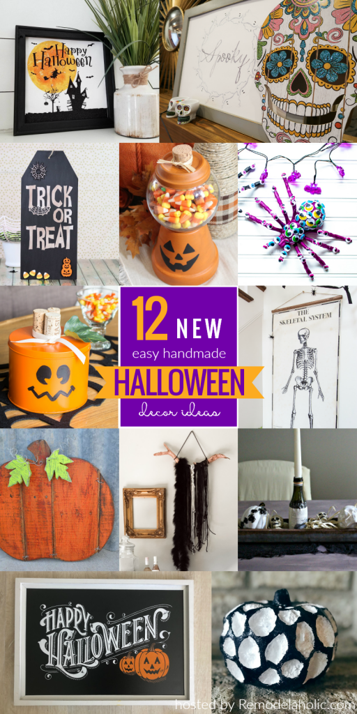 diy halloween decor challenge remodelaholic