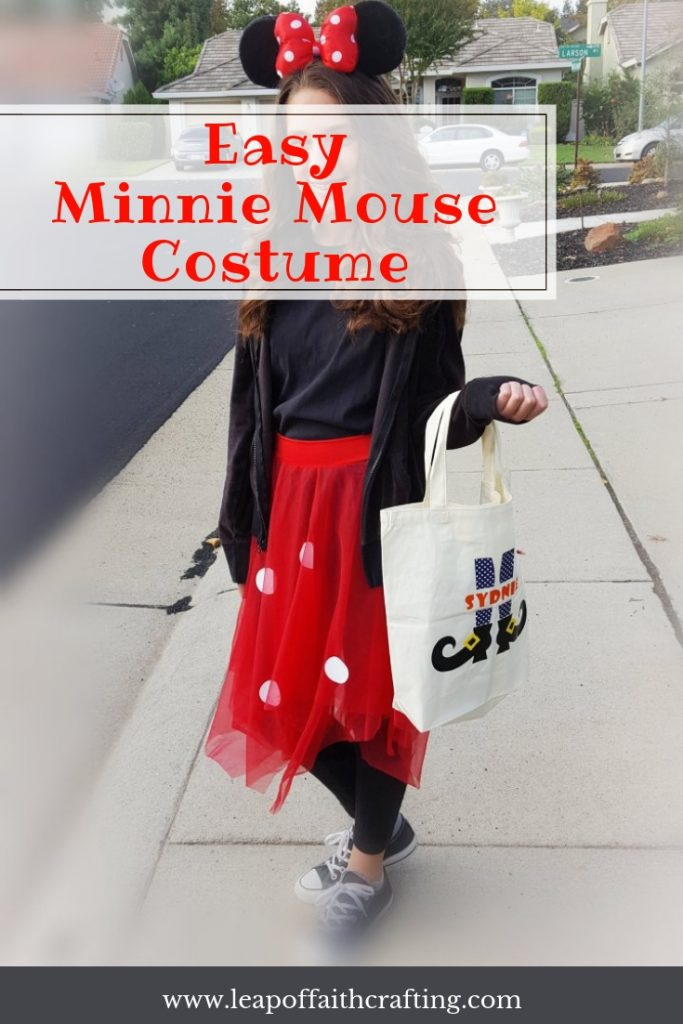 easy DIY minnie mouse costume pinterest