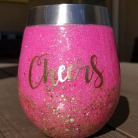 Personalized Stemless Wine Glasses DIY Tutorial!