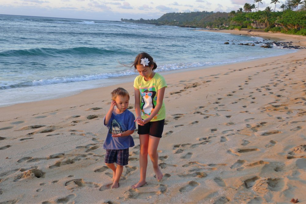 north shore with kids