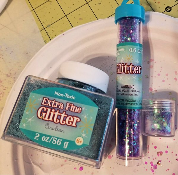 blue glitter for epoxy tumbler