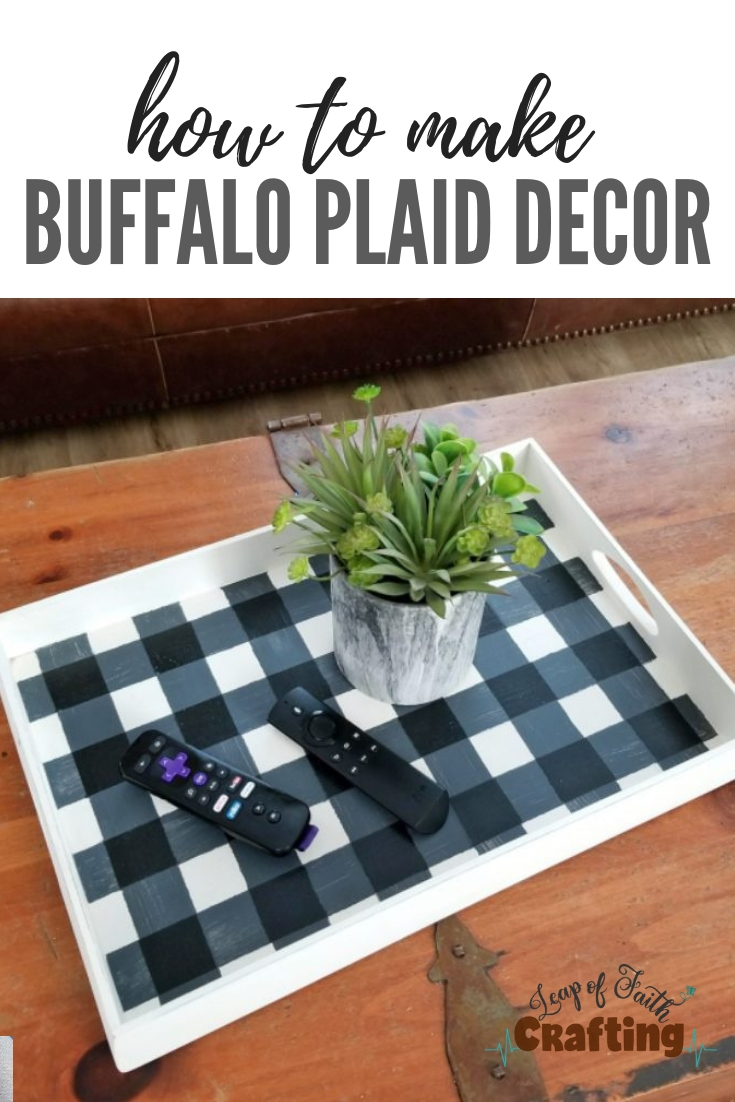 buffalo plaid decor pin