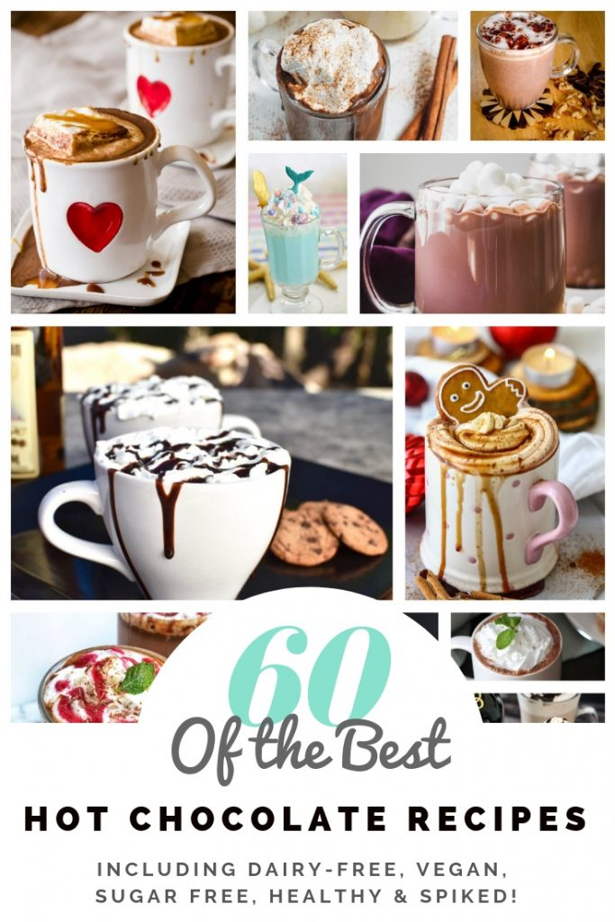 easy hot chocolate recipe pin