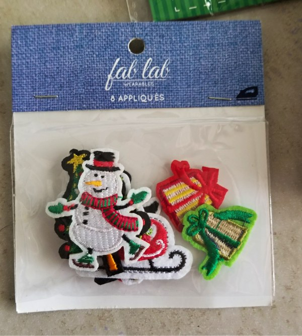 christmas appliques for ornaments