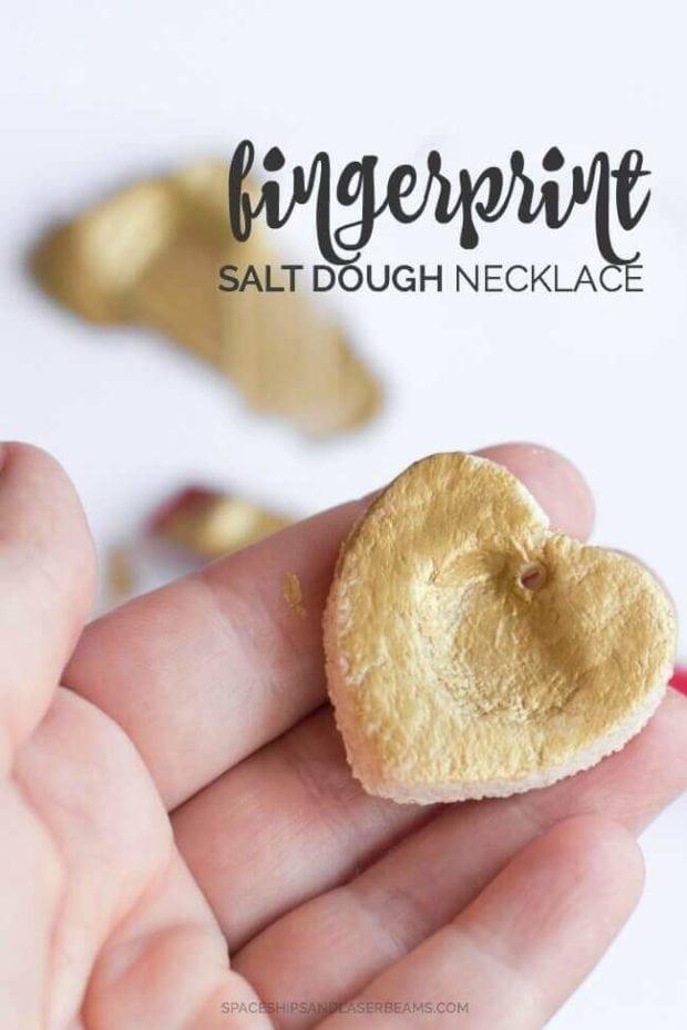main fingerprint necklace
