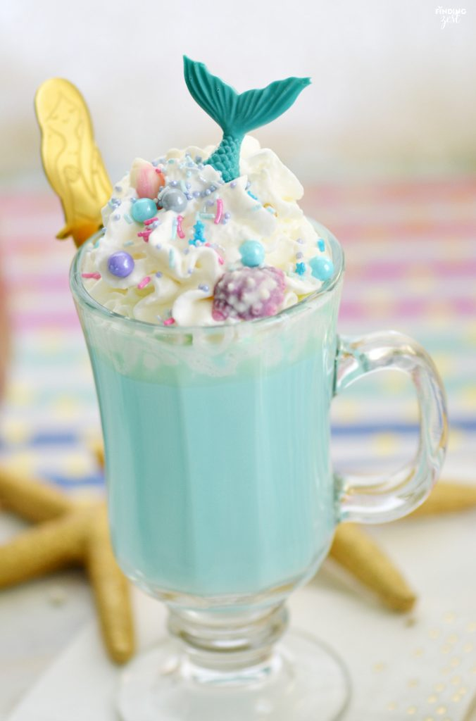 mermaid white hot chocolate recipe