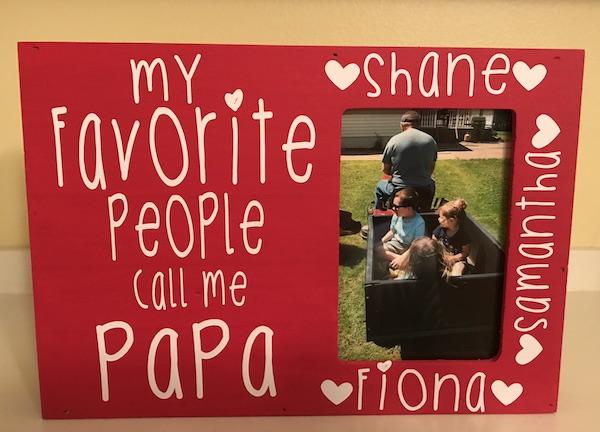 papa frame