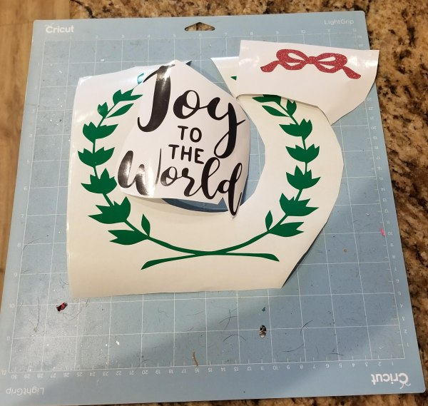 Joy to the World SVG file cut out