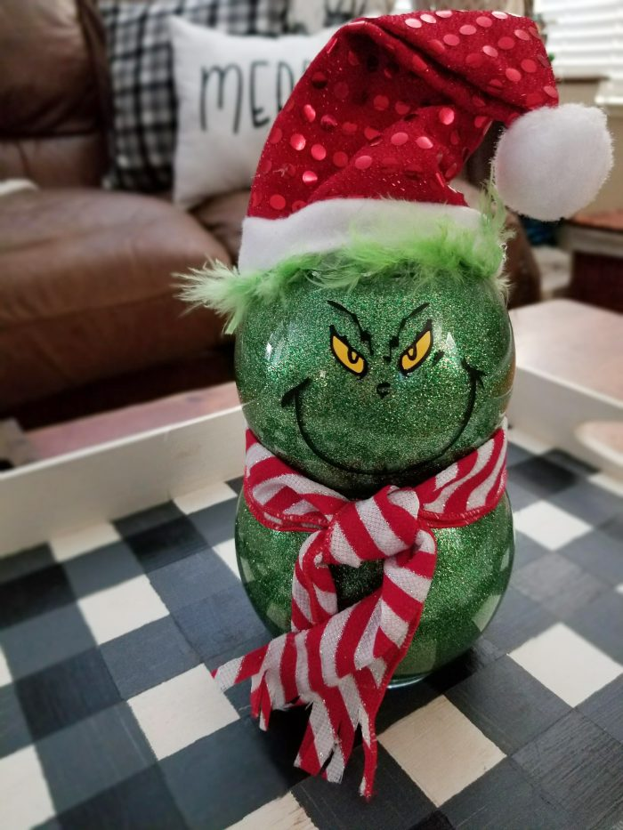 grinch decorations diy