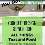cricut design space tutorial pin