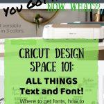 cricut design space tutorial pin