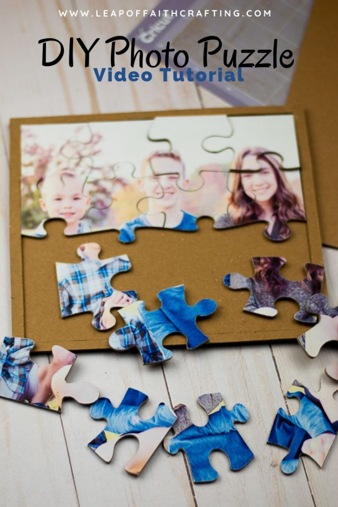 how to make a puzzle from a picture pin