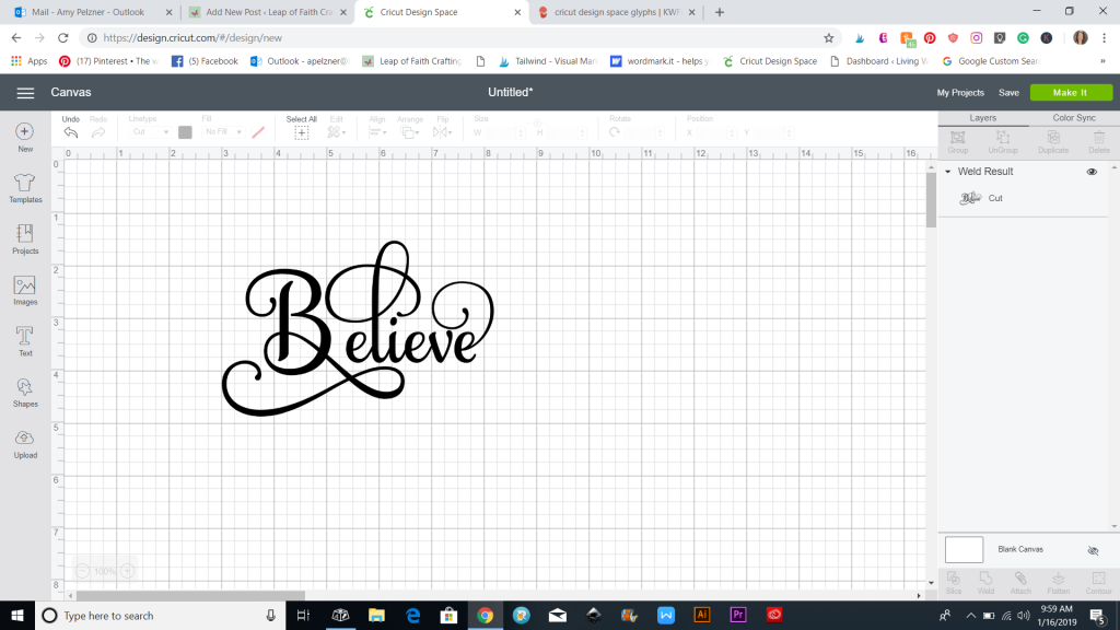 Learn How to Use Extra Font Characters in Cricut Design Space