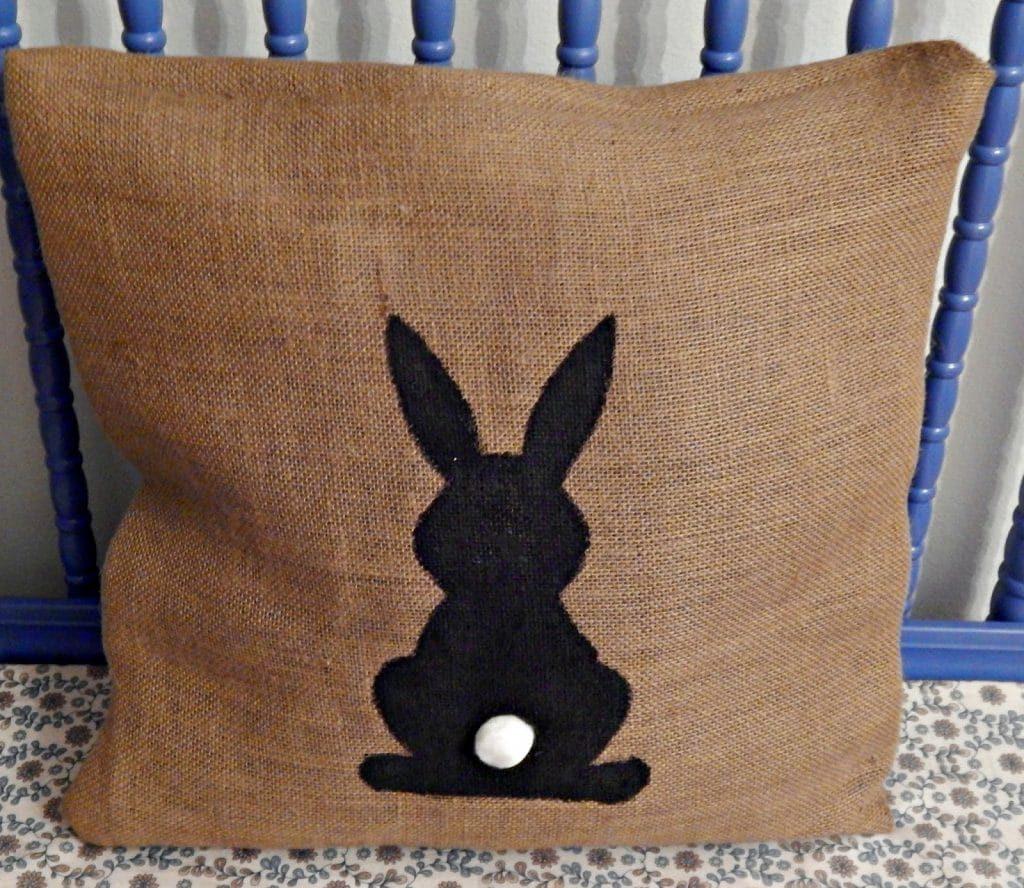 bunny pillow x