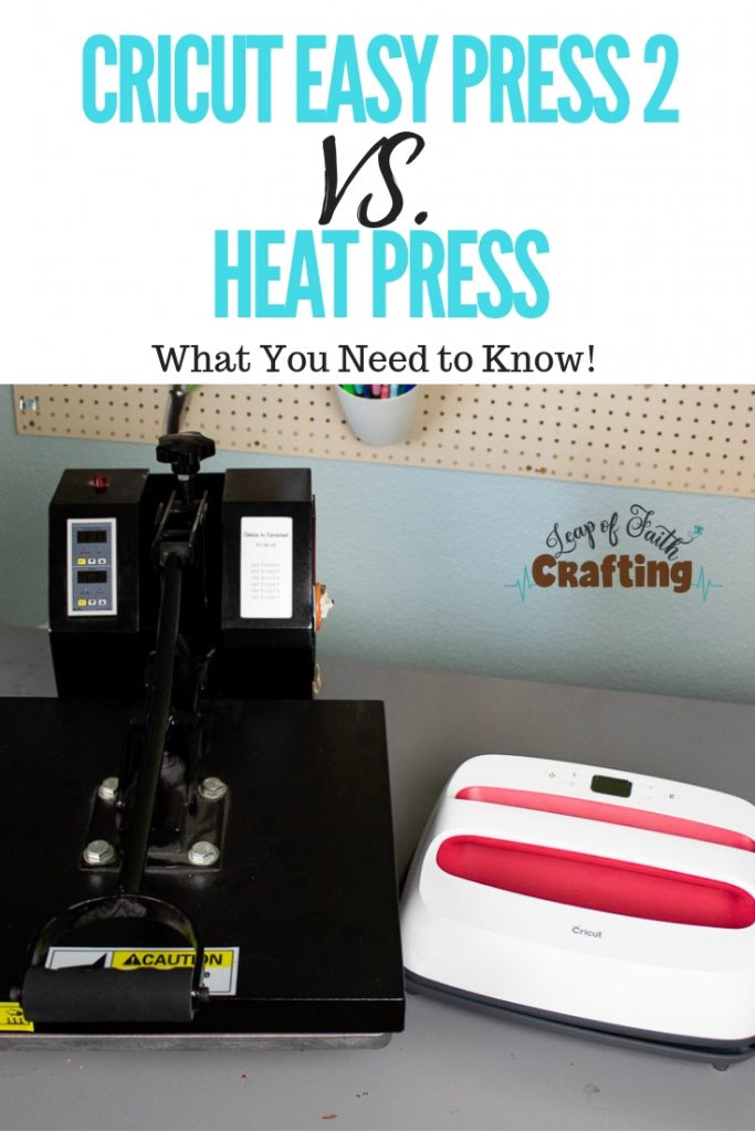 cricut easy press vs heat press pin