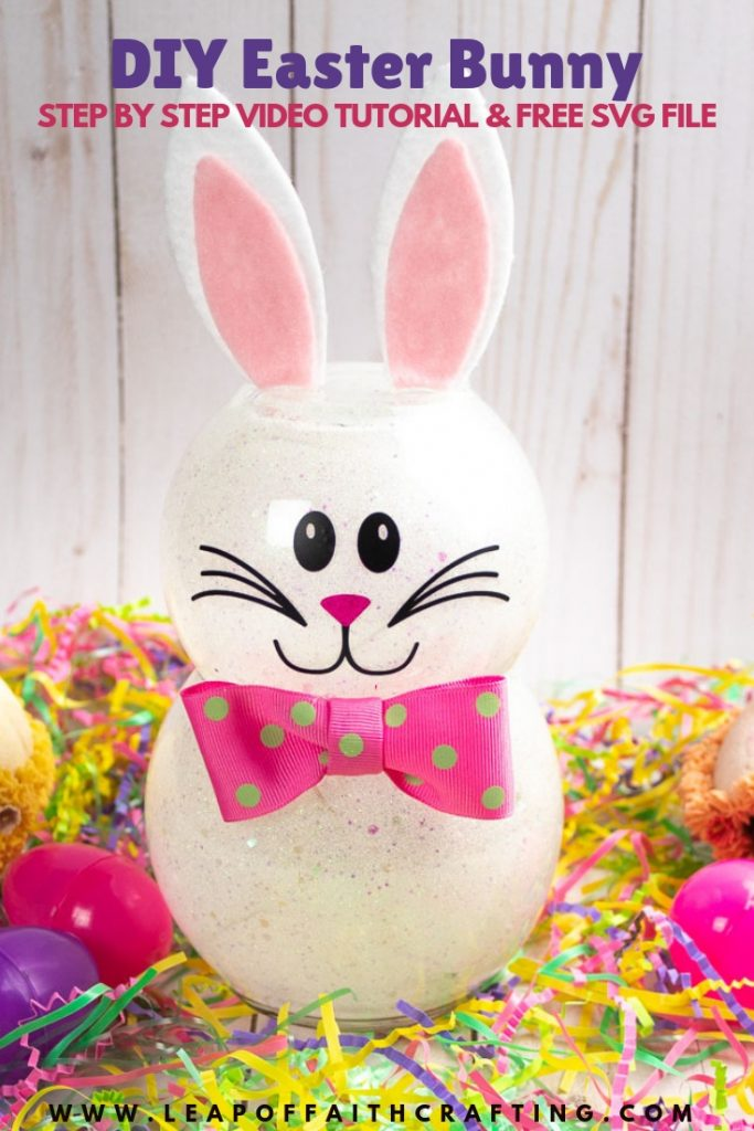 cute easter bunny pin