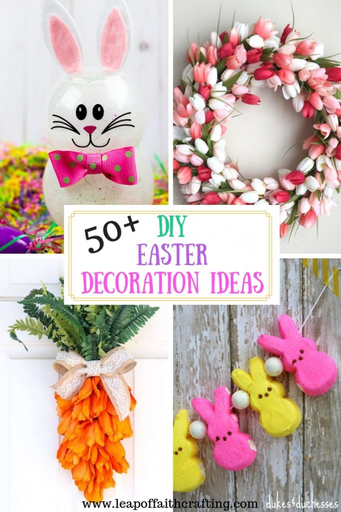 cute easter decorations for home pin