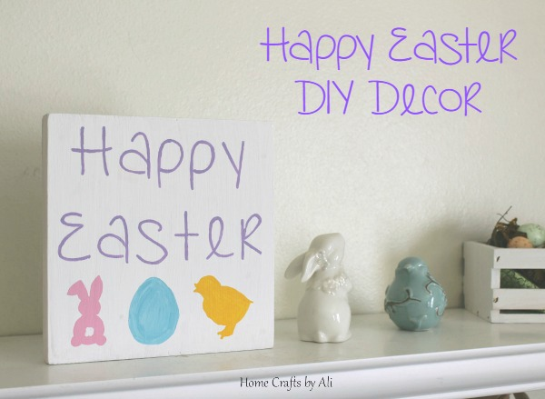 happy easter diy decor