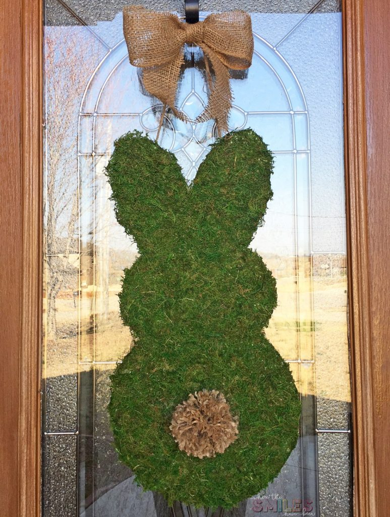 moss covered bunny door hanger final straight