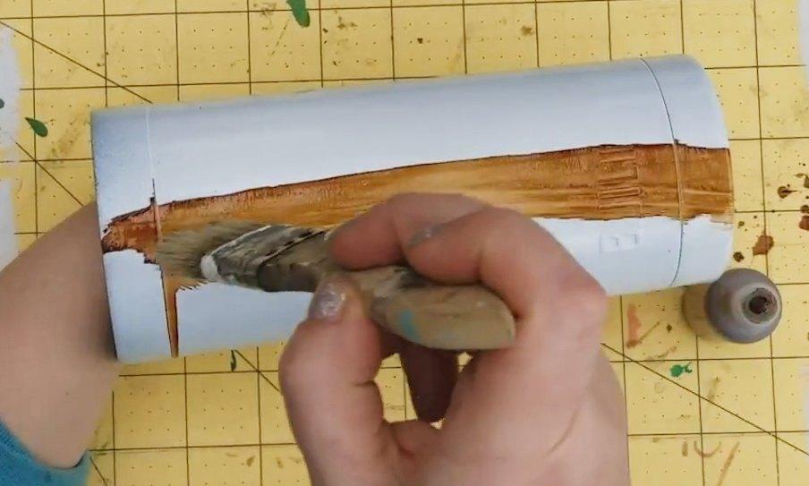 wood grain tumbler tutorial