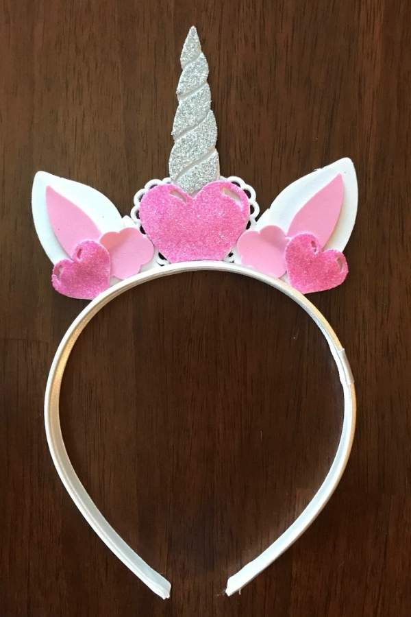 diy this cute unicorn headband