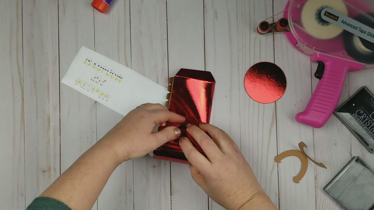 starbucks gift card teacher holder