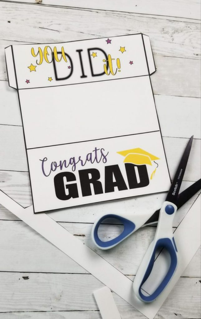 Free Printable Graduation Cards An Easy Way To Give Grads Money Leap Of Faith Crafting