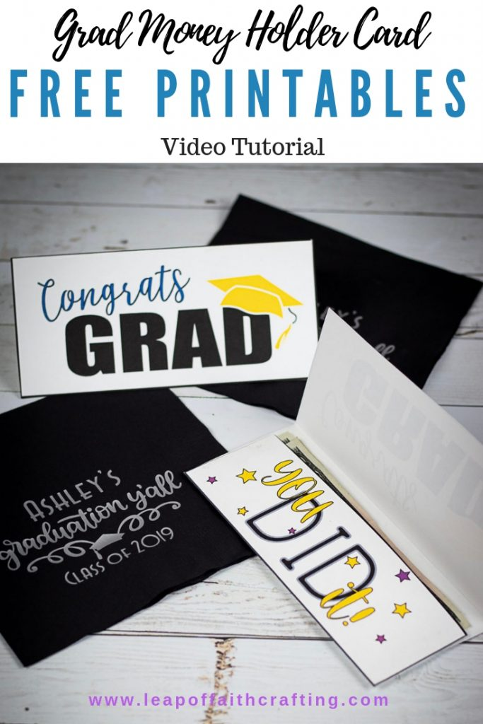 DIY graduation cards. Make handmade graduations cards with these free printables. #graduation #printable
