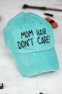 mom hat diy