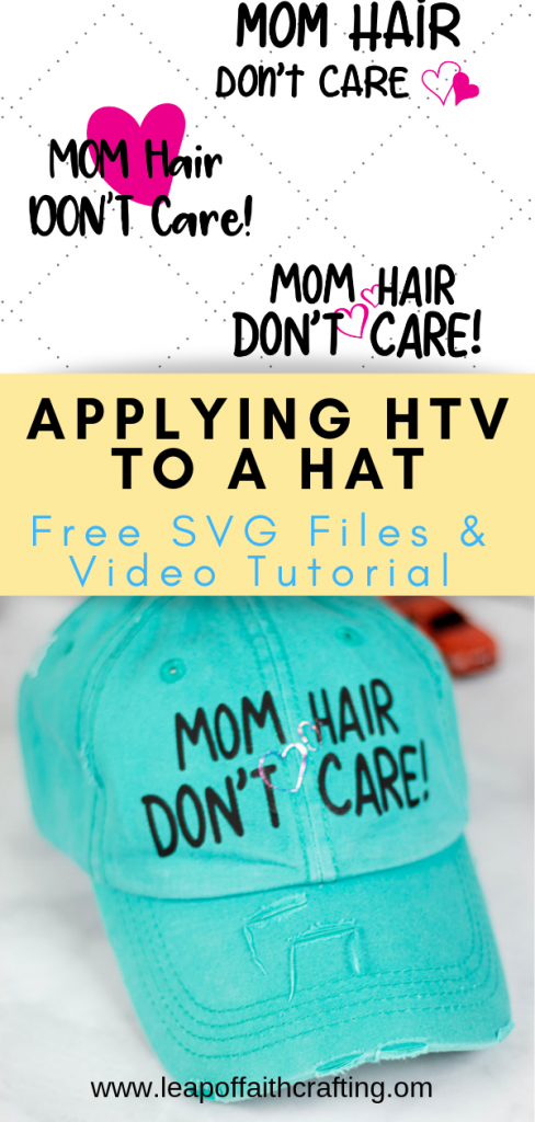 mom hat diy pin