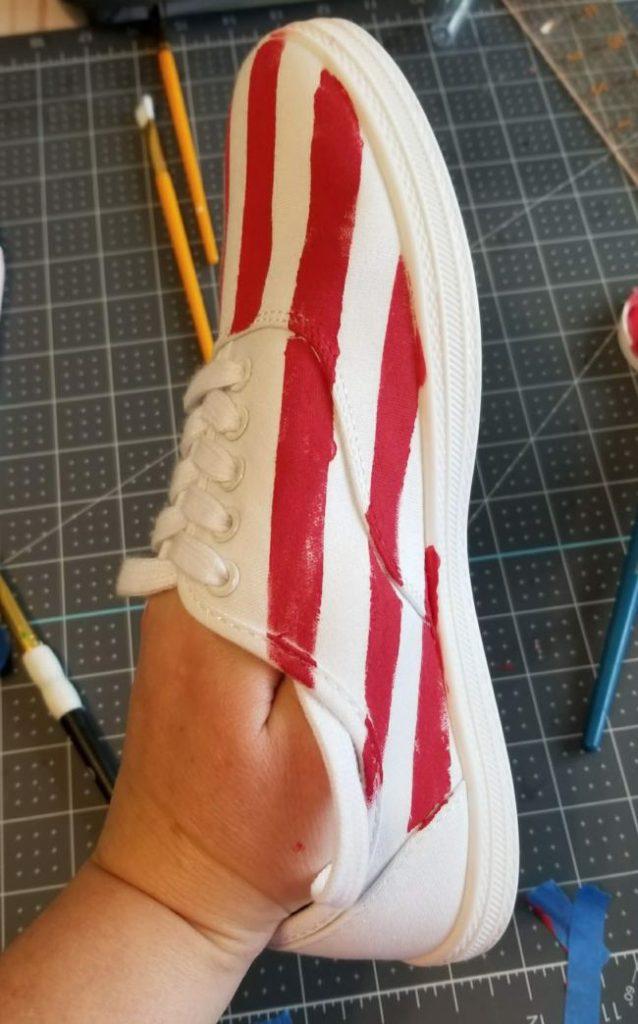 patriotic shoes