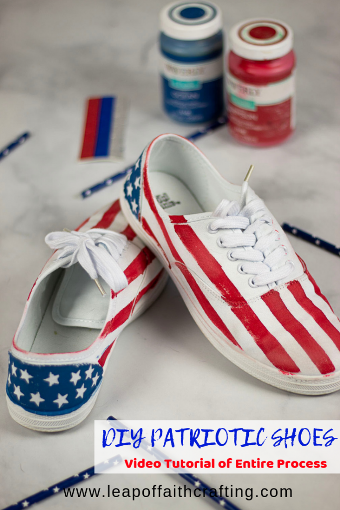 patriotic shoes pin