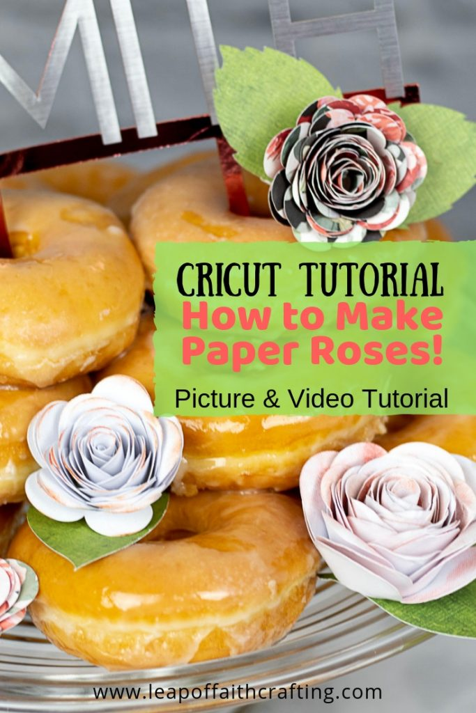 cricut paper flowers pin