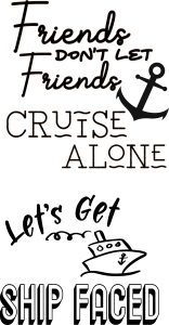 cruise sayings